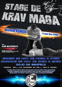 Stages Krav Maga dans la grande région Self Defense training avec Michael Kamga