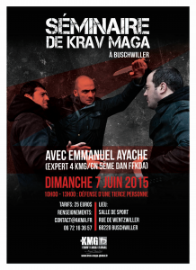 Stages Krav Maga dans la grande région Emmanuel Ayache à Buschwiller
