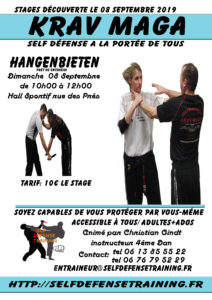 Stage Self Défense Trainig KRAV MAGA