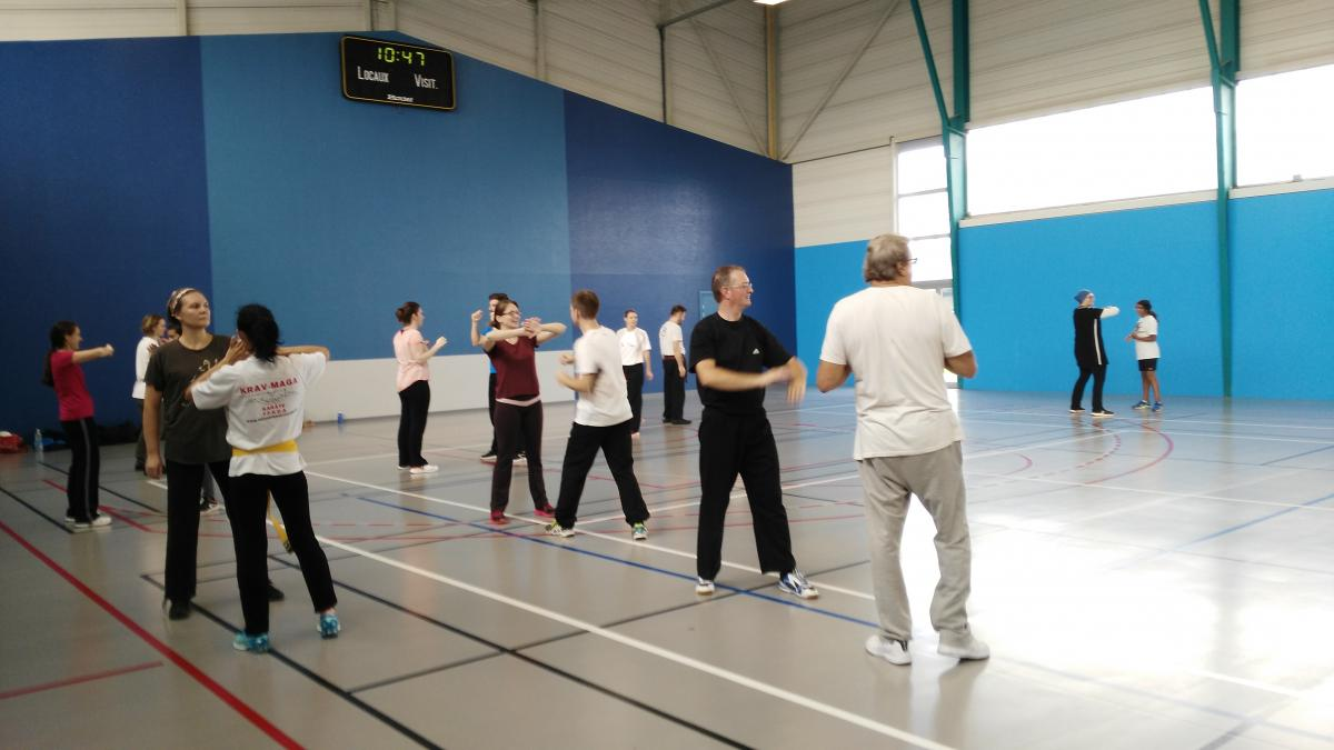 Stage initiation kravMaga SDT